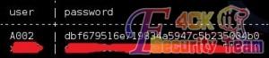 sqlmap user、password爆字段内容