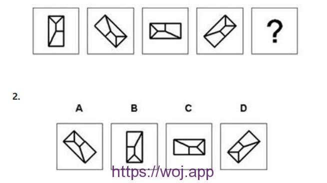 图形推理第二题