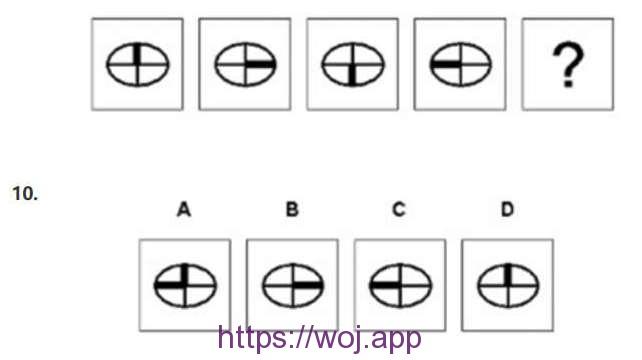 图形推理第十题