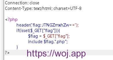 PHP 文件包含 LFI
