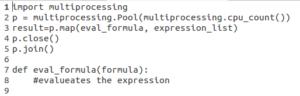 Python多处理 - 池代码