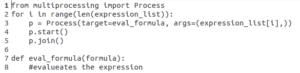 Python多处理 - 进程代码