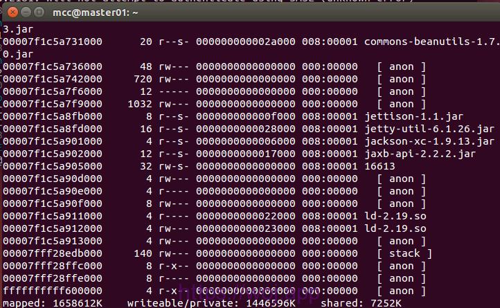 linux pmap命令