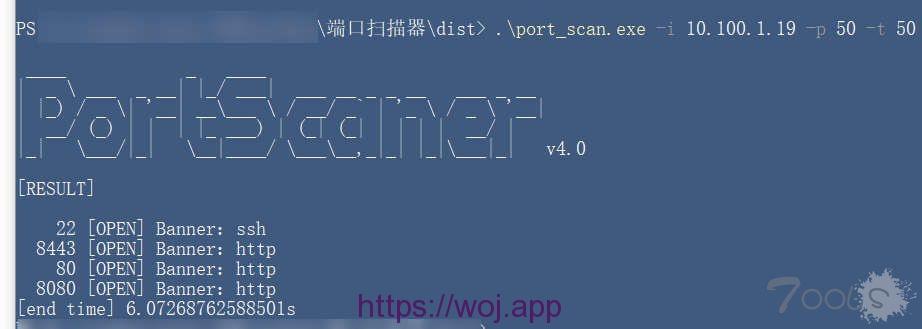 socket python3 主机开放端口的多线程扫描脚本
